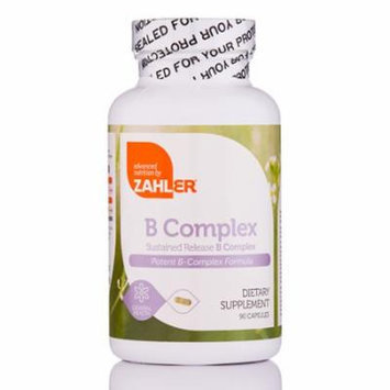 B Complex - 90 Capsules by Zahler