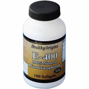Healthy Origins Vitamin E, Natural Mixed Toco Gels, 180 CT
