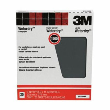 3m Wet Or Dry Tri-M-Ite Paper Sheets 1500 Grit 9