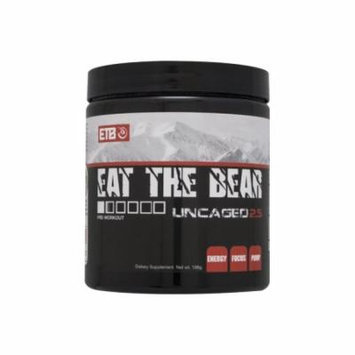 Eat The Bear Uncaged 2.5, Fruit Punch, 30 Servings