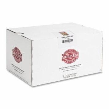 Seattle's Best Coffee Breakfast Blend Coffee - Regular - Light/Mild - 2 oz - 18 / Box