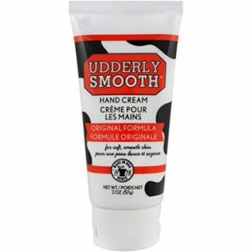 5 Pack Udderly Smooth Hand Cream Original Formula, For Soft Smooth Skin 2oz Each