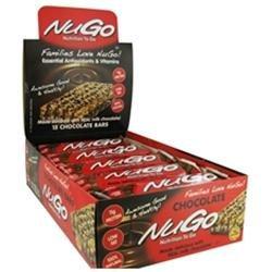 Nugo Nutrition Bar Chocolate Case of 15 1.76 oz
