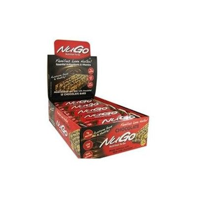 Nugo Nutrition Bar Chocolate Case of 15 1.76 oz