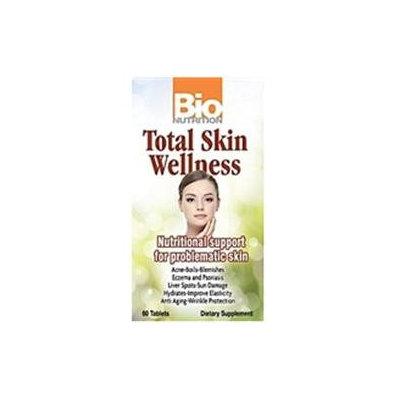 Bio-nutrition Total Skin Wellness, 60 Tablets, Bio Nutrition Inc.