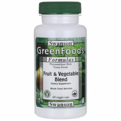 Swanson Fruit & Vegetable Blend 60 Veg Caps