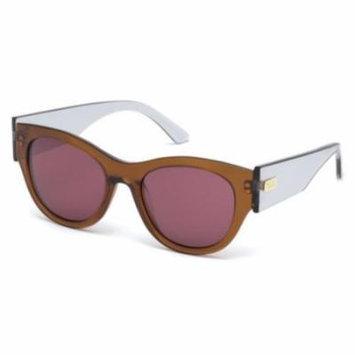 TOD'S Sunglasses TO0167 50S Dark Brown 52MM