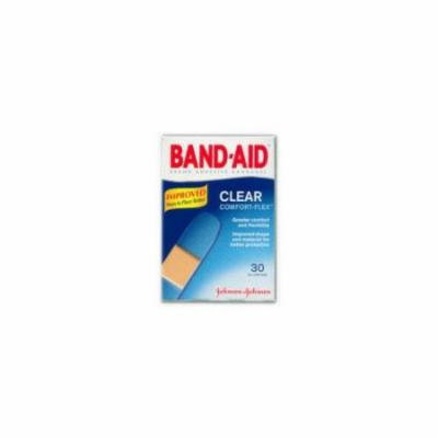 6 Pack - BAND-AID Clear Strips Adhesive Bandages All One Size 30 Each