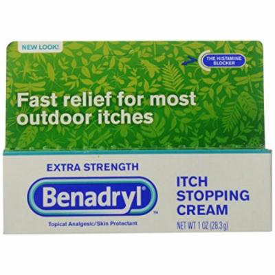 5 Pack - Benadryl Extra Strength Anti-Itch Cream - 1 oz. Each