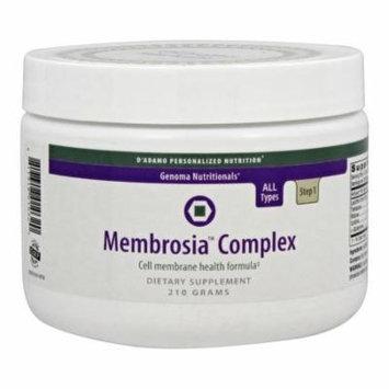 D'Adamo Personalized Nutrition - Genoma Nutritionals Membrosia Complex - 210 Grams