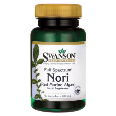 Swanson Full Spectrum Nori 400 mg 60 Caps