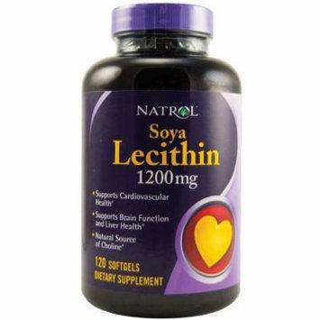 Natrol Heart Health Soya Lecithin softgels, 120 CT