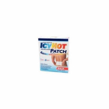 5 Pack Icy Hot Extra Strength Medicated Patch Large 5 Count each