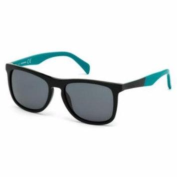 DIESEL Sunglasses DL0162 01P Shiny Black 54MM