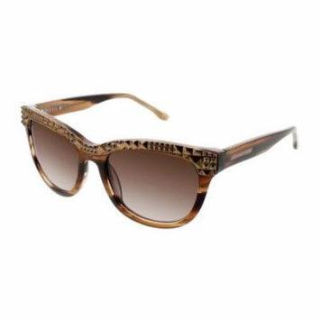 BCBGMAXAZRIA Sunglasses INDULGE Brown Horn 52MM