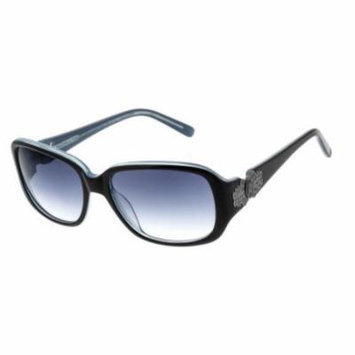 JESSICA MCCLINTOCK Sunglasses 564 Black Laminate 54MM