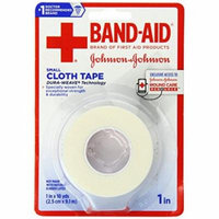 3 Pack BAND-AID - Johnson & Johnson Small Cloth Tape 1 in X 10 yds Each