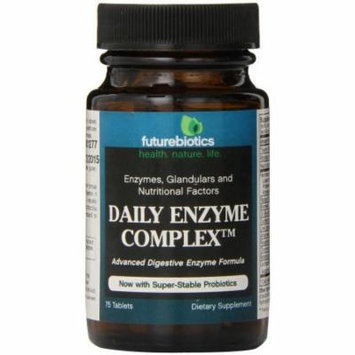 Futurebiotics Daily Enzyme Complex Tablets, 75 CT