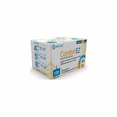 Clever Choice 32G6 Comfor Ez Insulin Pen Needles 32G 6 mm. - Box of 100