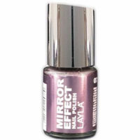 Layla Mirror Effect Nail Polish, #7 Metal Plum