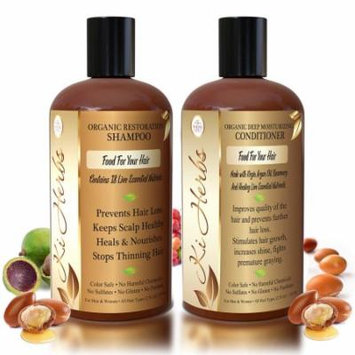 Ki Herbs Organic Combo Shampoo 12oz + Conditioner 12oz