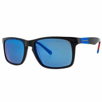 Polaroid X 8422/S Polarized Rectangle Unisex Sunglasses
