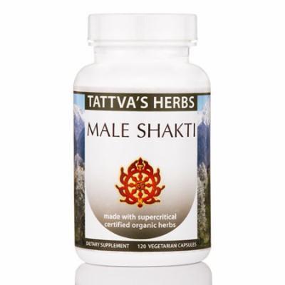 Male Shakti Organic - 120 Vegetarian Capsules by Tattva's Herbs