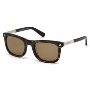 DSQUARED2 Sunglasses DQ0178 50E Dark Brown 52MM
