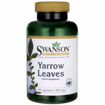 Swanson Yarrow Leaves 400 mg 120 Caps