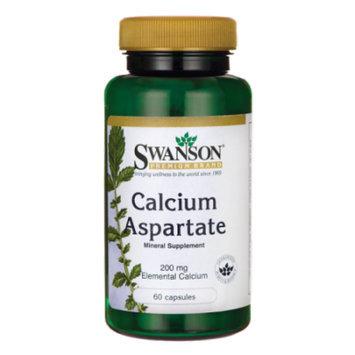 Swanson Calcium Aspartate (200 mg Elemental) 1,000 mg 60 Caps