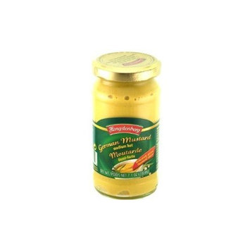 Hengstenberg Mustard, Medium Hot, 7.1 Ounce (Pack of 6)