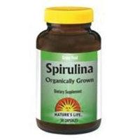 Hawaiian Spirulina 500mg - Vegetarian Nature's Life 50 Tabs