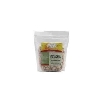 Best Of All Organic Dry Roasted and Salted Pistachios -- 8 oz