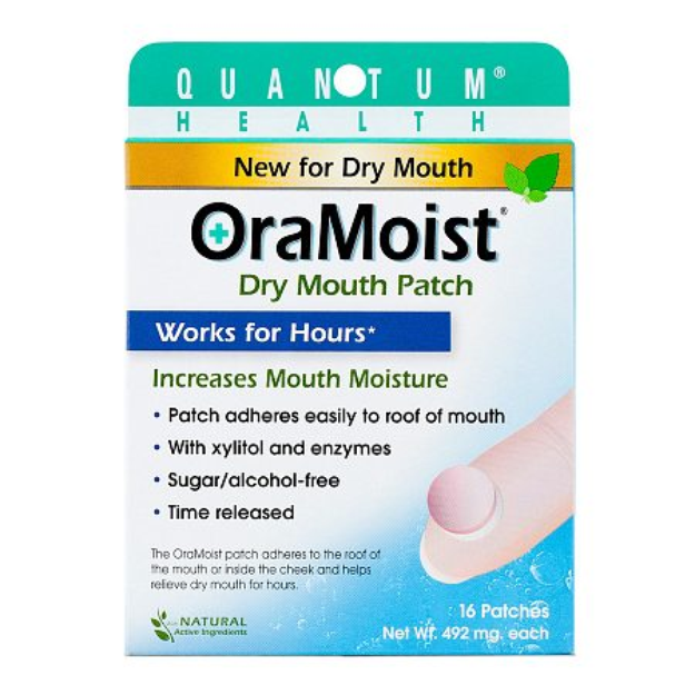 Quantum OraMoist Dry Mouth Patch