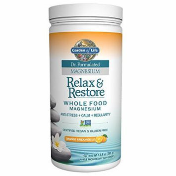 Garden of Life Dr. Formulated Magnesium Relax & Restore Orange Dreamsicle 13.8oz (391g) Powder