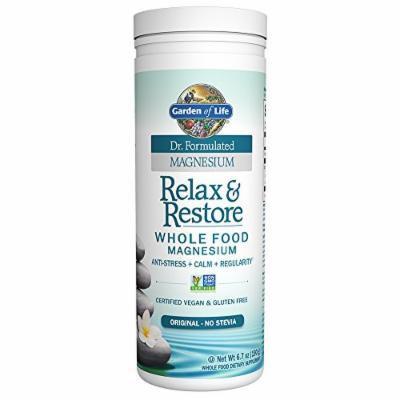 Garden of Life Dr. Formulated Magnesium Relax & Restore Original 6.7oz (190g) Powder