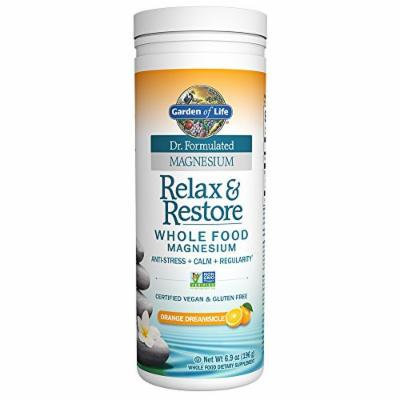 Garden of Life Dr. Formulated Magnesium Relax & Restore Orange Dreamsicle 6.9oz (196g) Powder