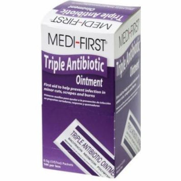 Medi-First, Triple Antibiotic Ointment 0.5g packets, Box of 144 MS-60775