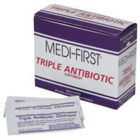 Medi-First, Triple Antibiotic Ointment 0.5g packets 5 Boxes ( 125 packets ) MS-60772