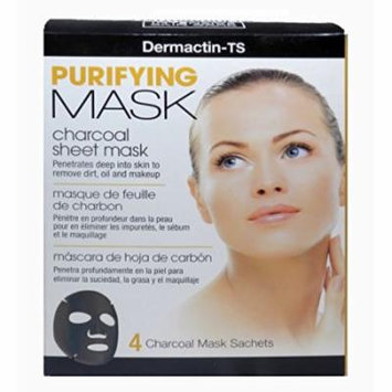 Dermactin-TS Purifying Mask with Charcoal 4-Count