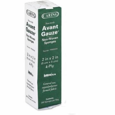 Caring Avant Gauze Pads Non-Sterile 2