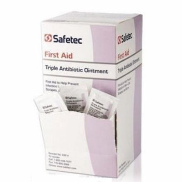 Safetec, Triple Antibiotic Ointment 0.9g packets 4 Boxes ( 576 packets ) MS-60789