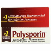 5 Pack - Polysporin First Aid Antibiotic Ointment 1oz Each