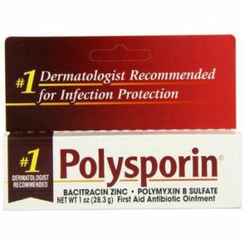5 Pack - Polysporin First Aid Antibiotic Ointment 1oz Each
