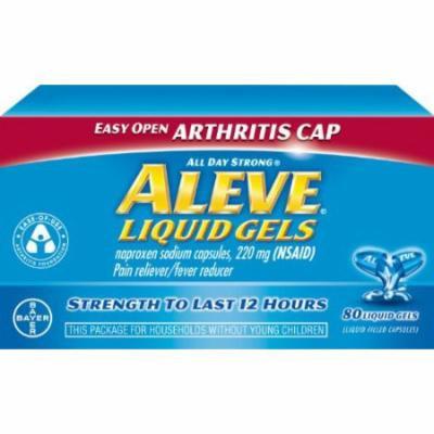 2 Pack - Aleve Liquid Gels with Easy Open Arthritis Cap, 80 Liquid Gels Each