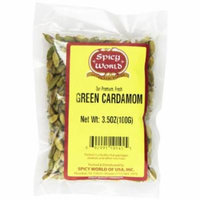 Spicy World Green Cardamom Pods, 3.5 Ounce