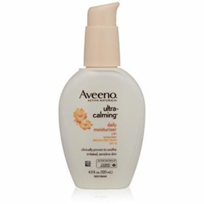 5 Pack - Aveeno Ultra-Calming Daily Moisturizer SPF 15 4oz Each