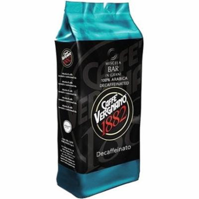 Caffe Vergnano Drip Coffee Decaffeinated Whole Beans 2.2lb/1kg