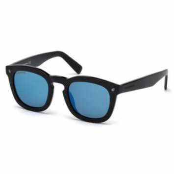 DSQUARED2 Sunglasses DQ0198 01X Shiny Black 49MM