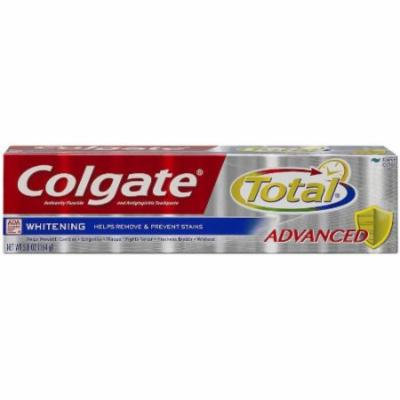 5 Pack - Colgate Total Advanced Fluoride Deep Clean Toothpaste, 5.8oz Each